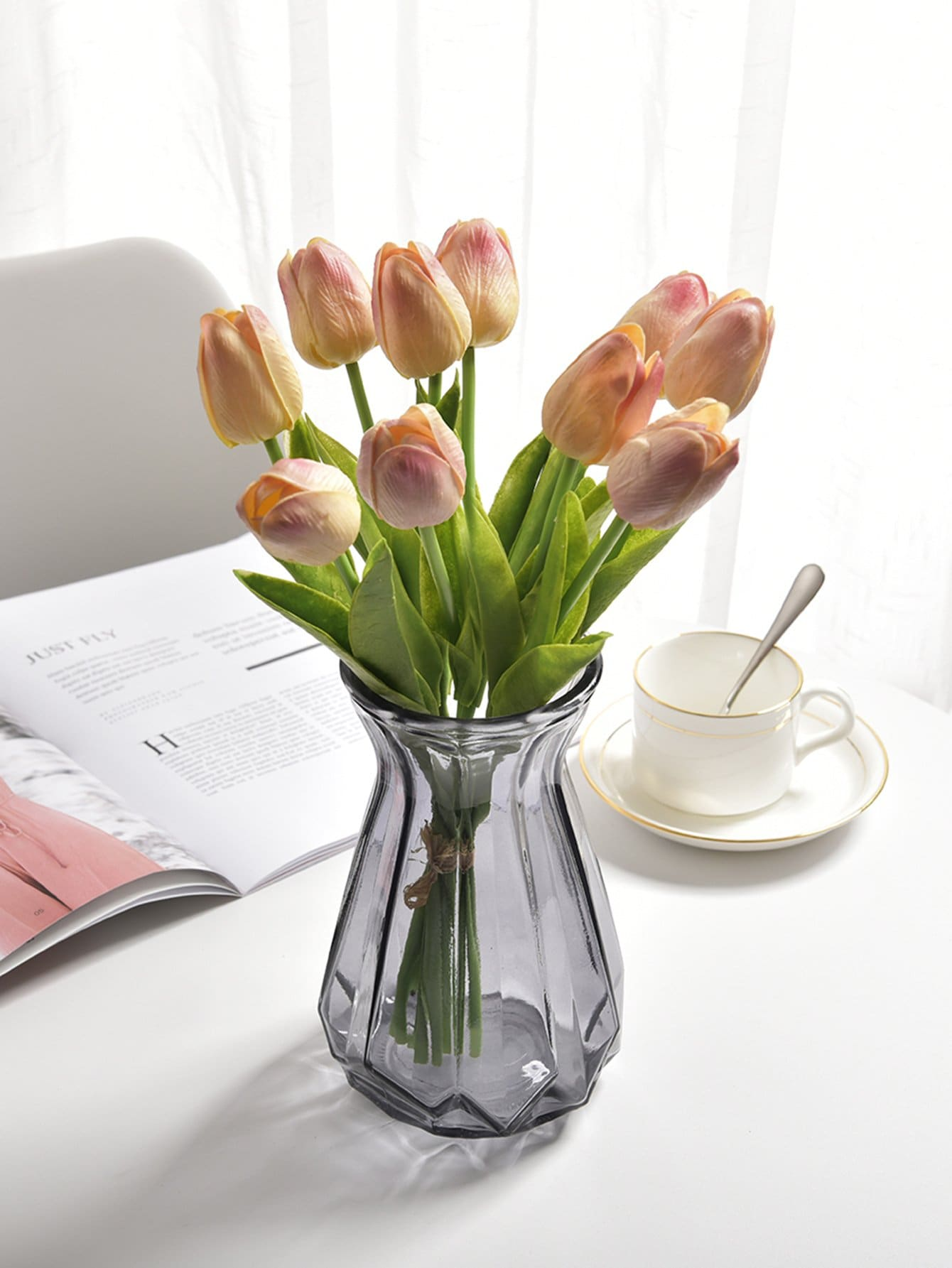 Artificial Tulip Flower 1pc
