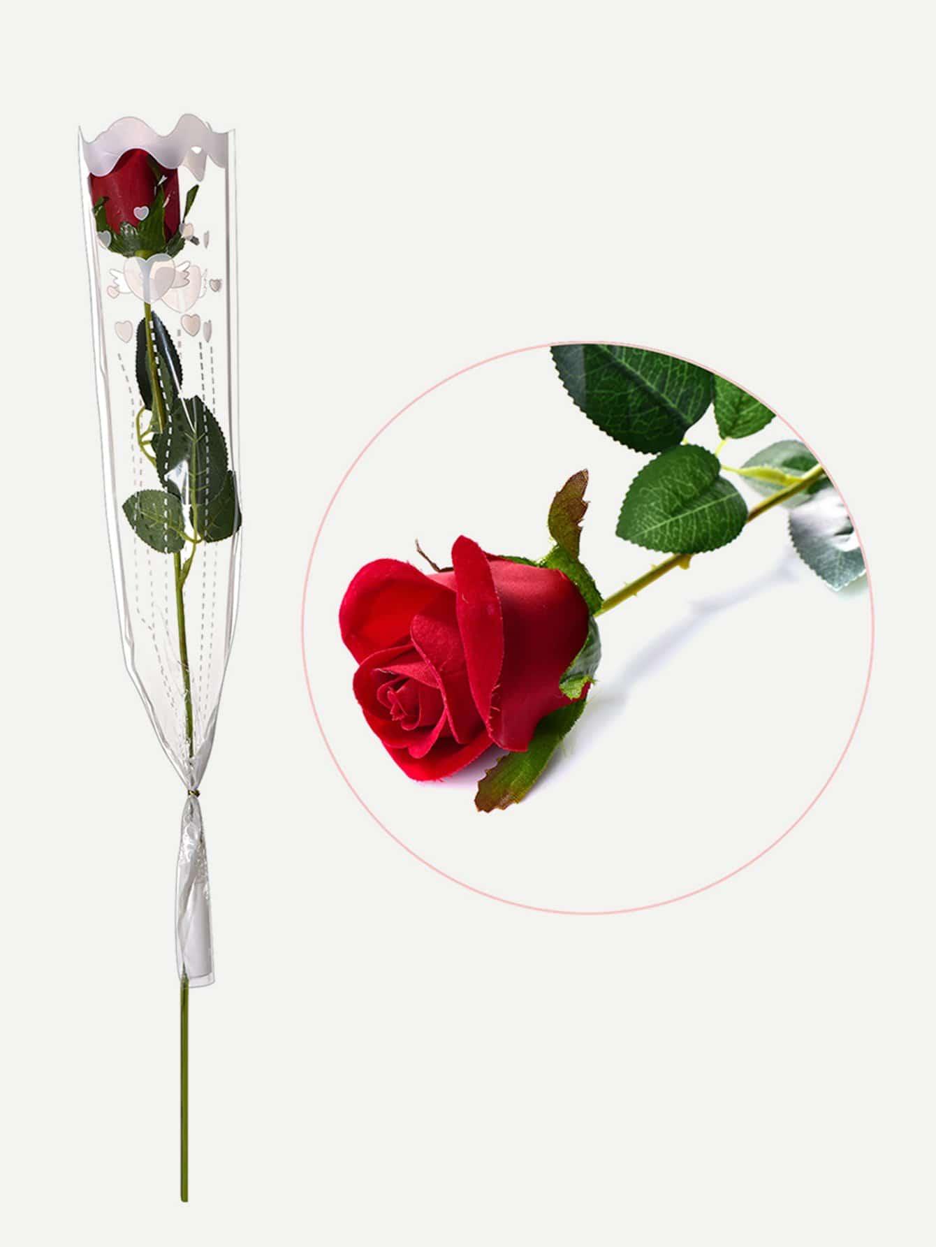 Artificial Rose Flower 1pc