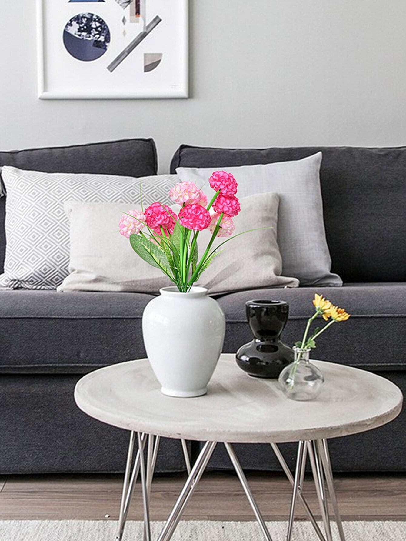 Hydrangea Bouquet With 10pcs Flower hydrangea flower cloth art