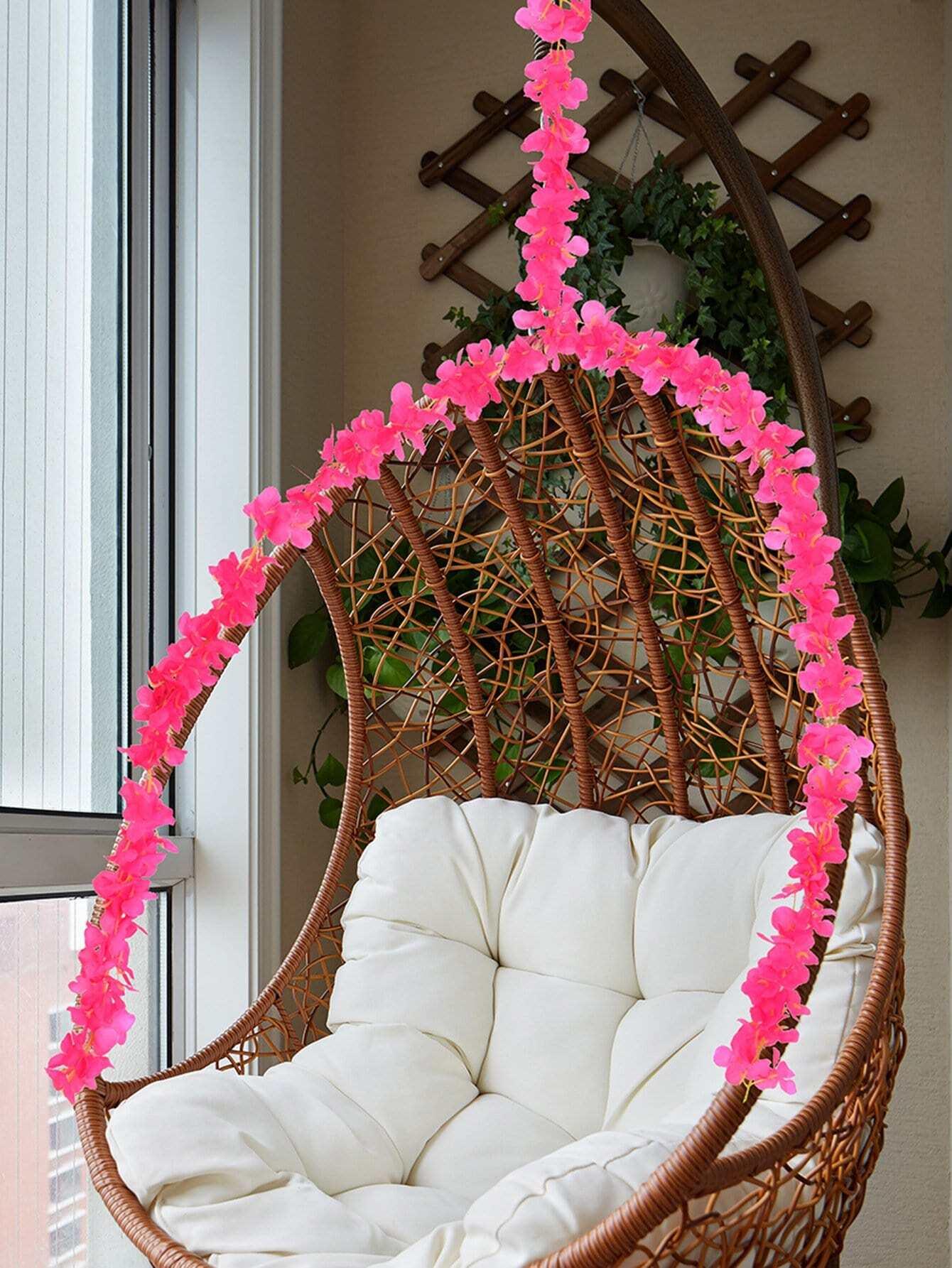 Artificial Flowers Vine 1pc 200cm decorative wreaths flowers vine garland leaf