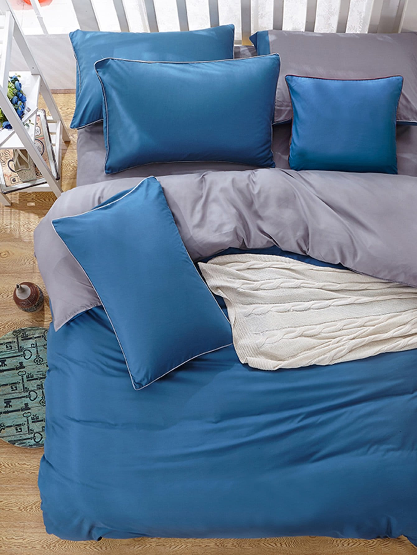 Two Tone Bedding Set полотенце для ванной two tone grafik quelle quelle 239974