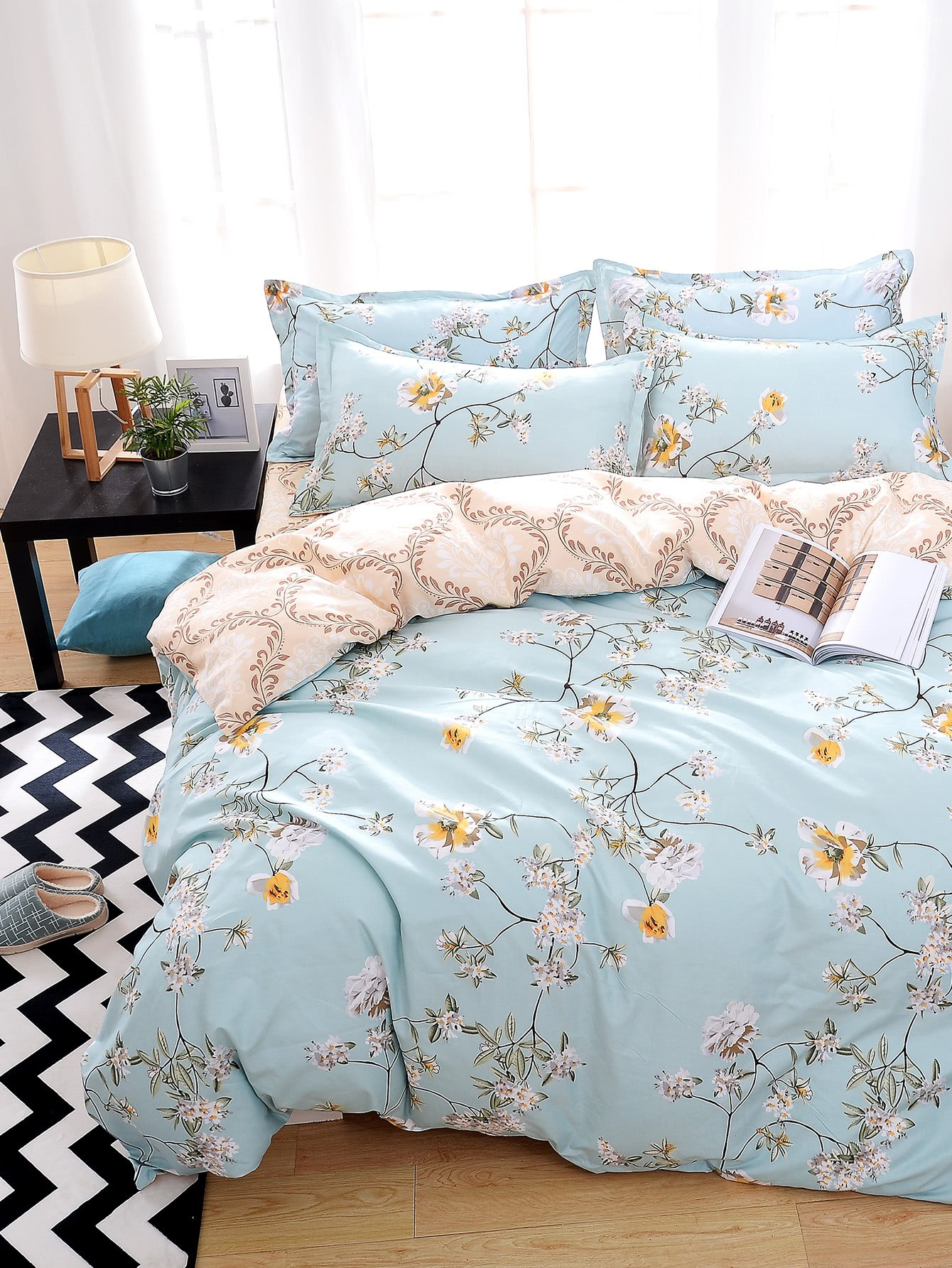 All Over Florals Duvet Cover Set диск пильный makita b 29228 standard