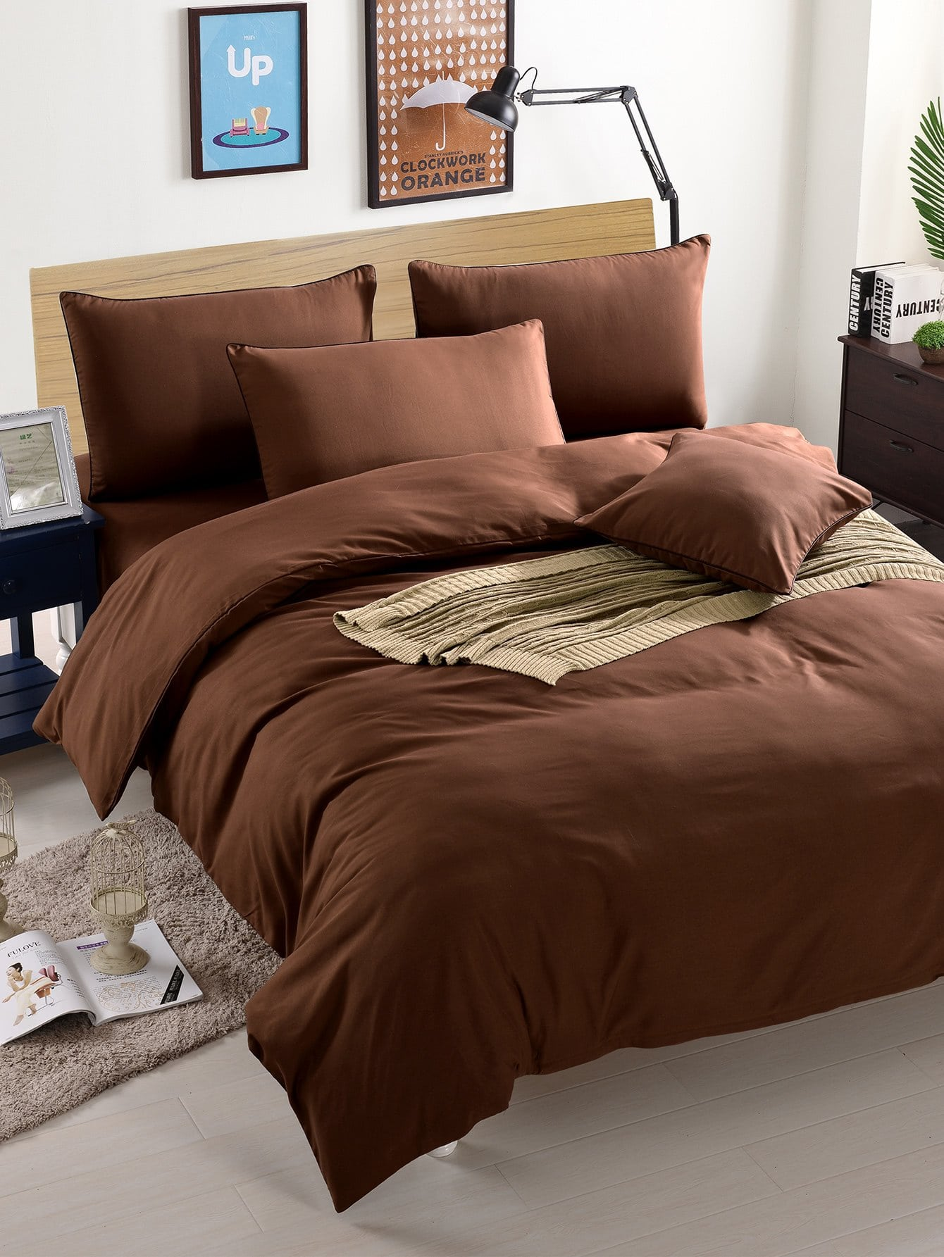 Simple Solid Duvet Cover Set 9656 early simple machines set