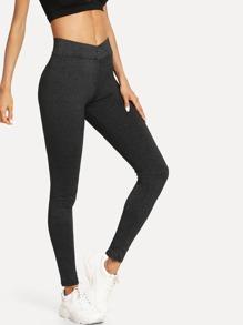 Elastic Waist Skinny Legging