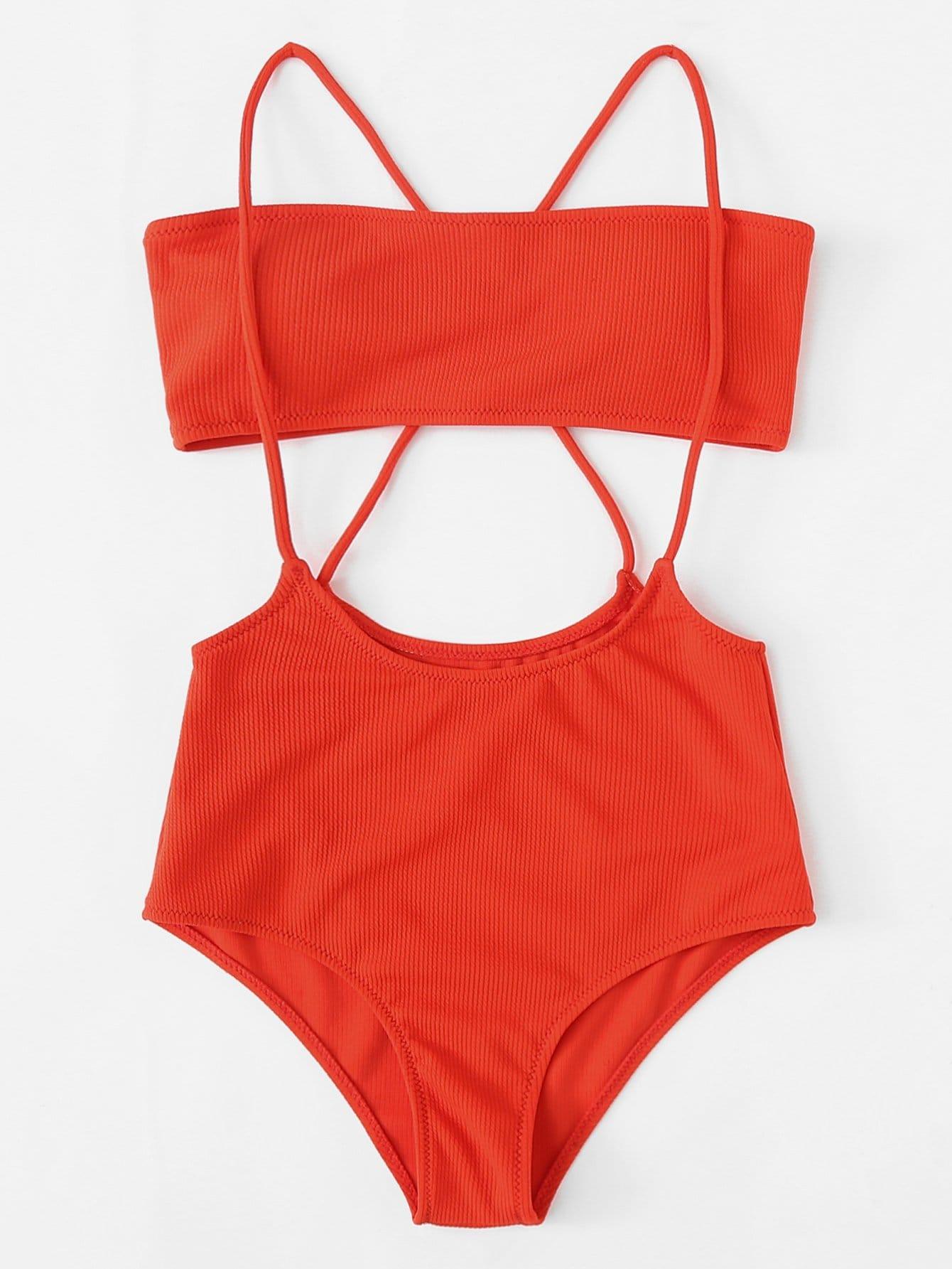 Criss Criss Two Piece Swimwear vintage no names шерстяной джемпер 1980 е