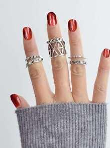 Hollow Geometric Ring