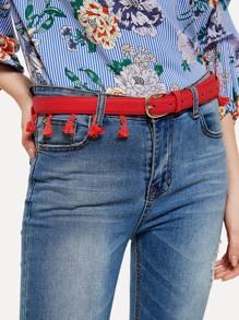 Tassel Fringe Design Belt
