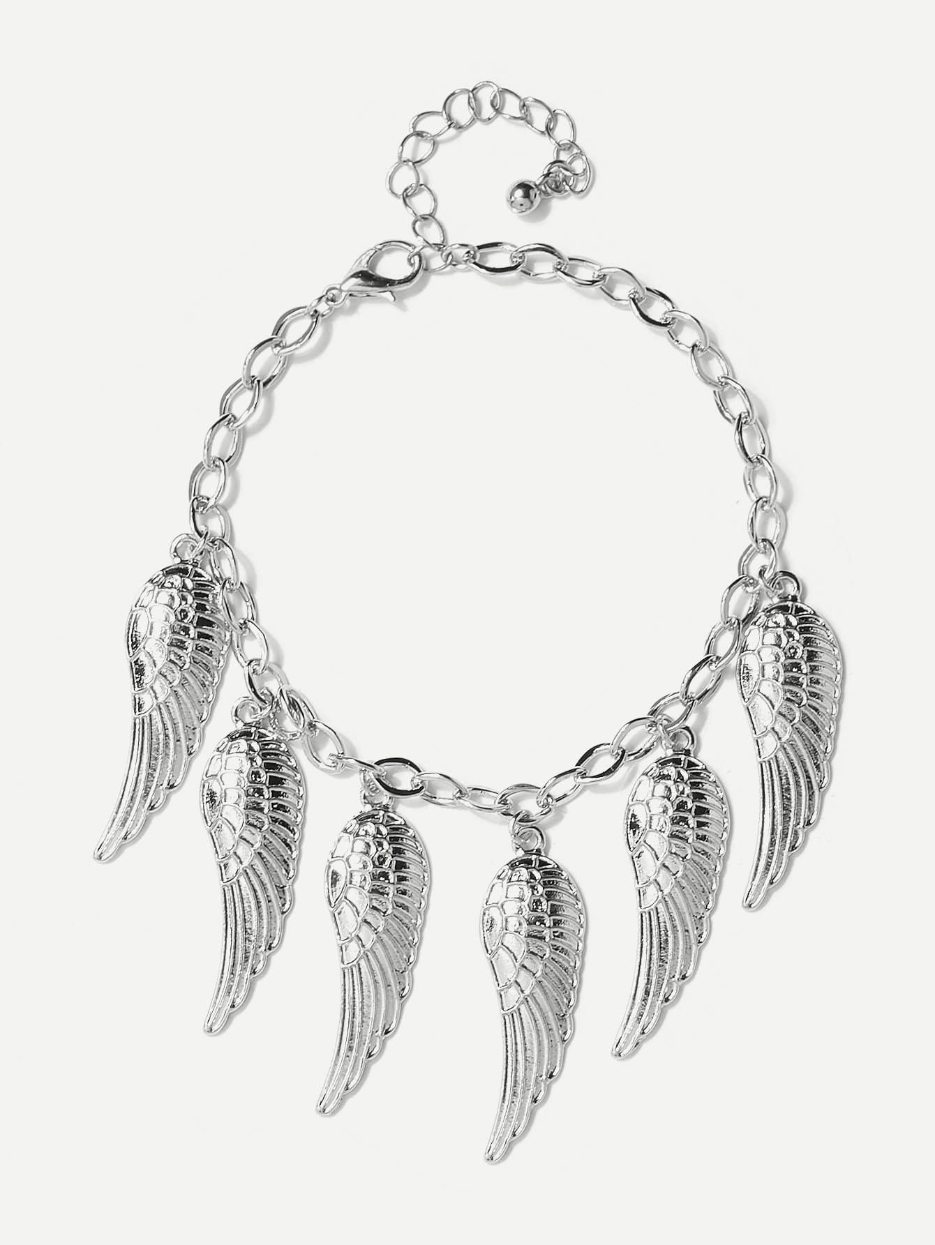 Wing Design Chain Bracelet wing design chain bracelet