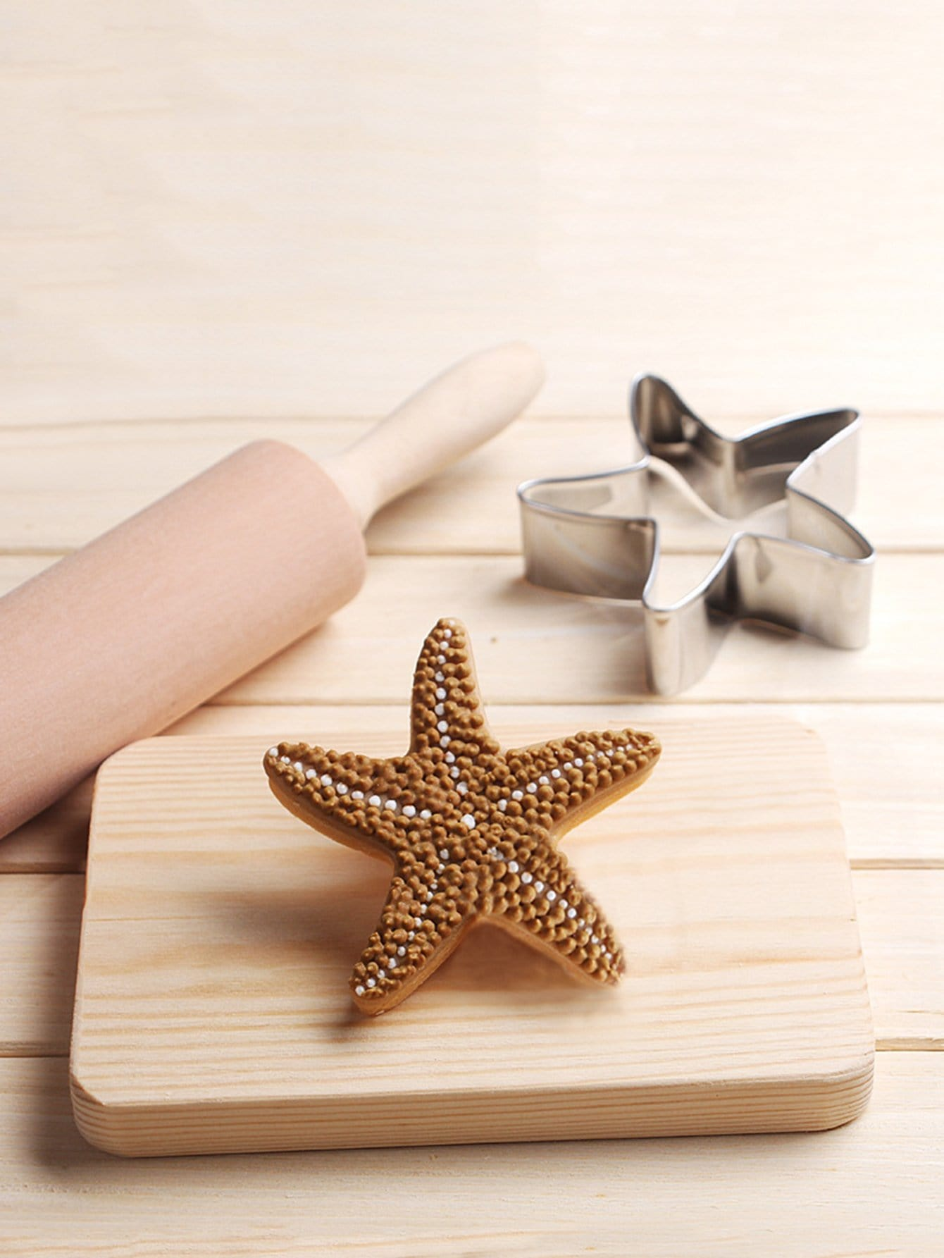 Stainless Steel Cookie Cutter Starfish Mold 1pc stainless steel star cookie cutter