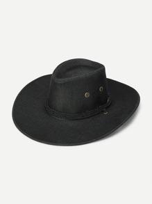 Eyelet Western Hat