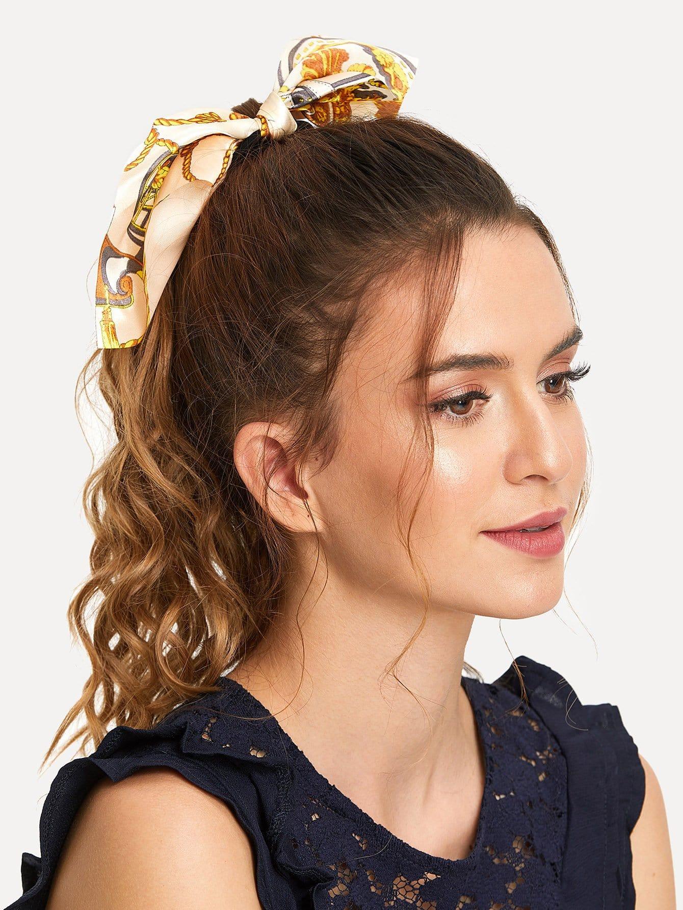 Scarf Knot Hair Tie hair tie 3pcs