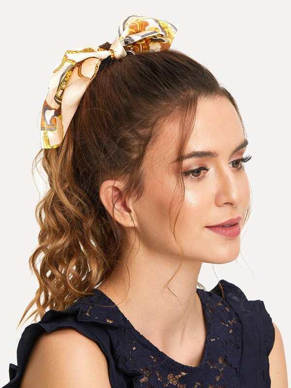 Scarf Knot Hair Tie by Sheinside