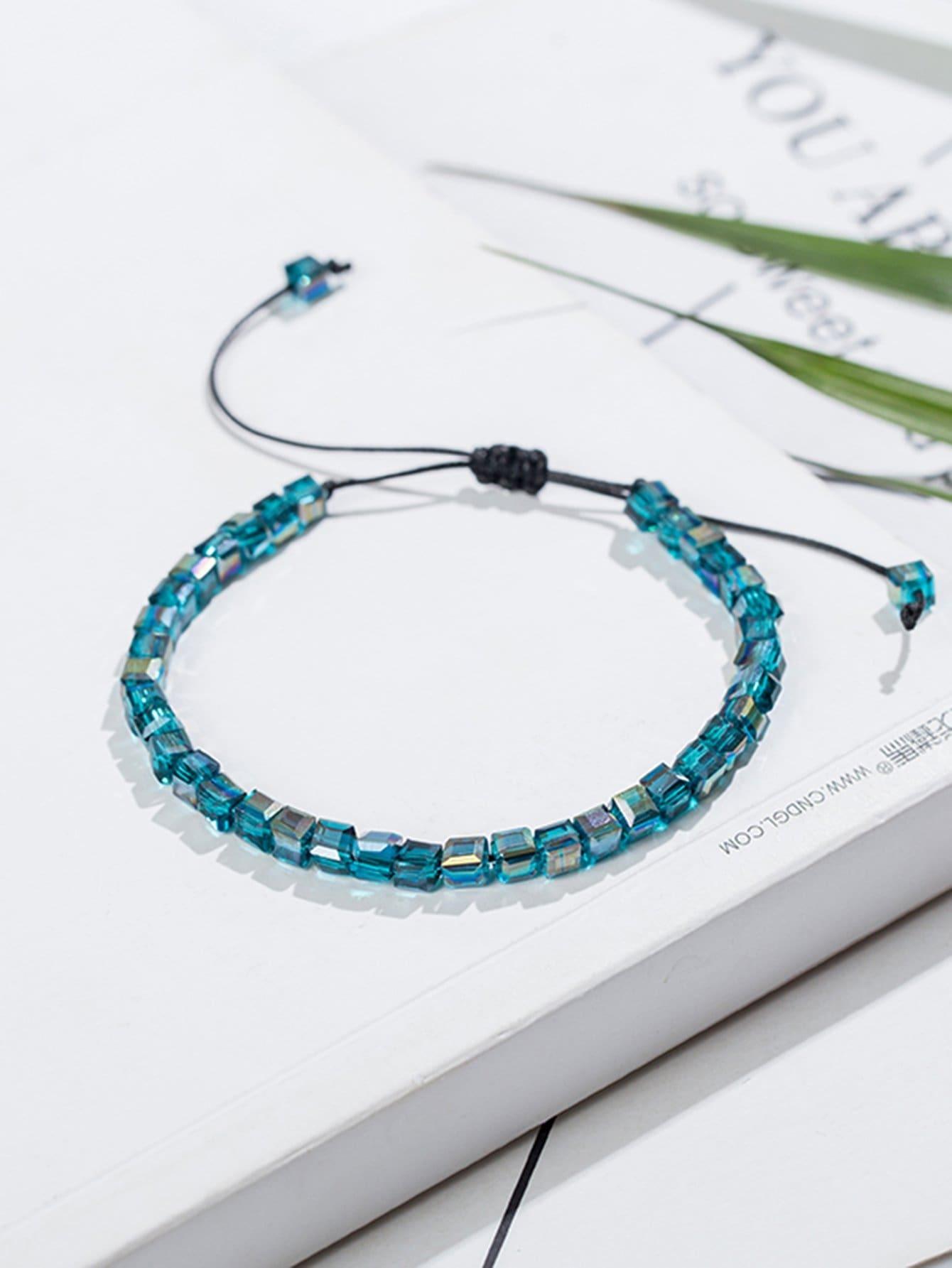 Adjust Beaded Bracelet plain beaded bracelet