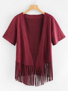 Tassel Hem Kimono