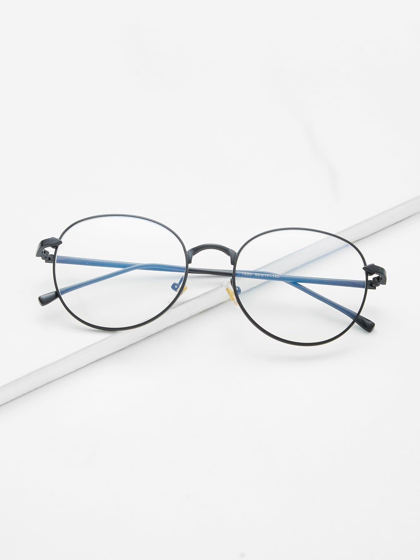Metal Frame Clear Lens Glasses clear frame cat eye glasses