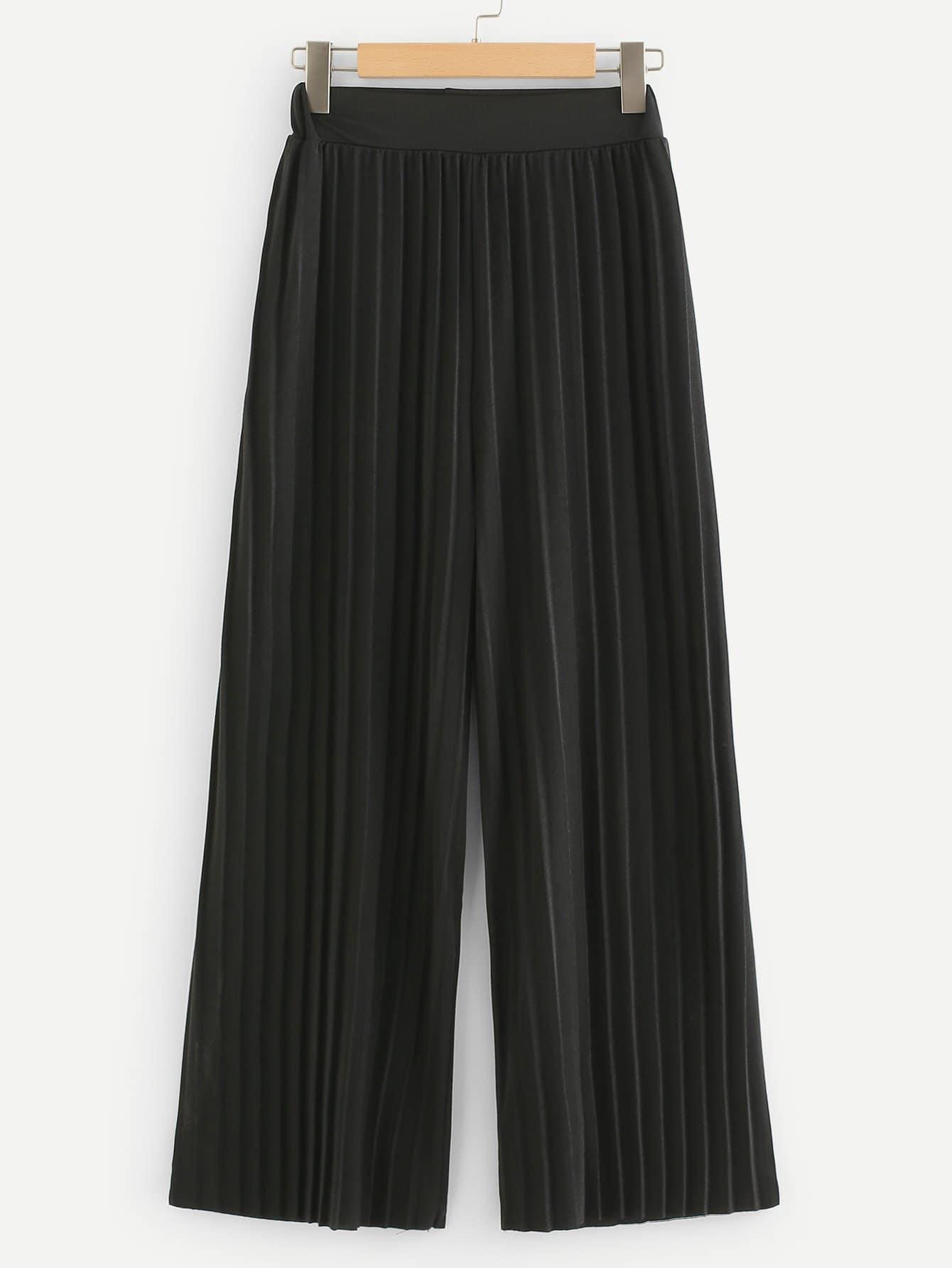 где купить Pleated Wide Leg Pant дешево