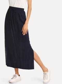 Split Side Column Skirt