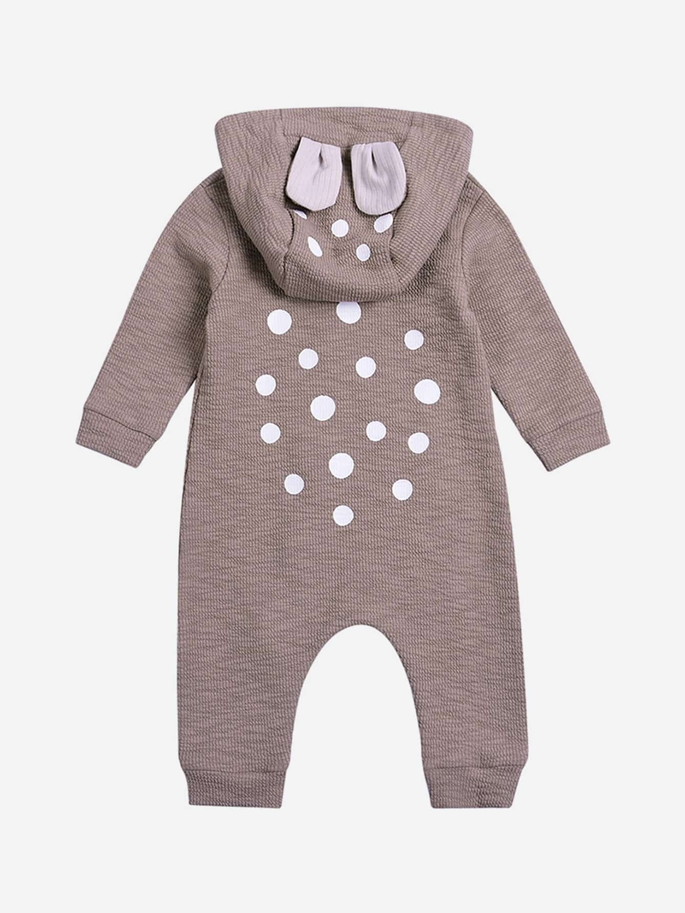 Boys Baby Bear Romper cotton newborn infant kids baby boy girl romper jumpsuit clothes outfit baby bear toddler children rompers
