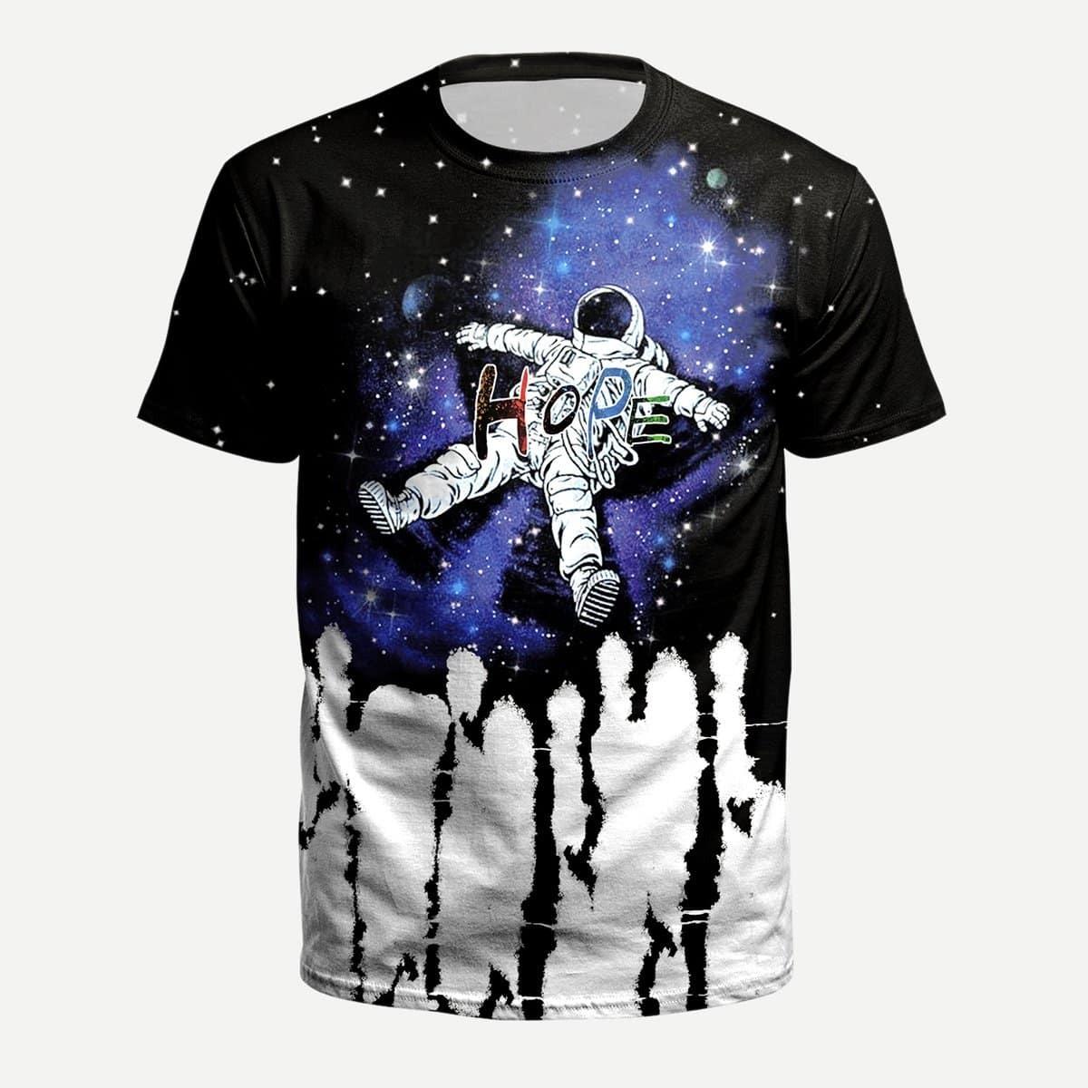 Astronaut Print Tee