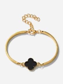 Clover Detail Bracelet