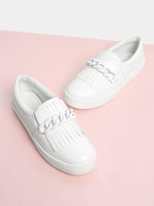 Chain Design Sneakers