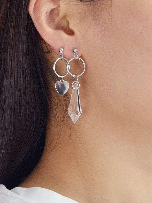 Asymmetrische Ohrringe