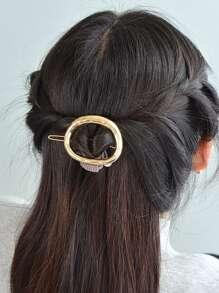 Irregular Metal Hair Clips