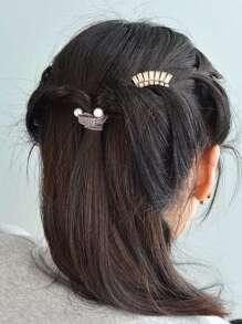 Retro Diamond Hair Clip