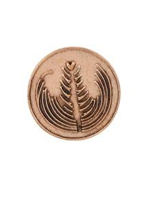 A Retro Badge Brooch