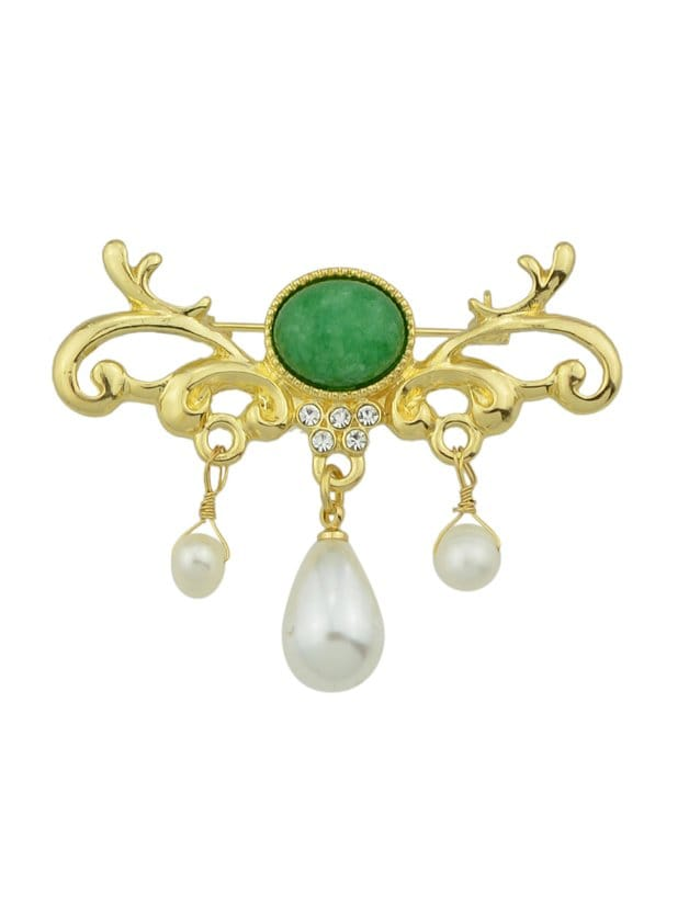 Diamond Pearl Brooch все цены