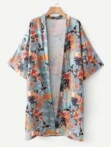 All Over Printed Kimono