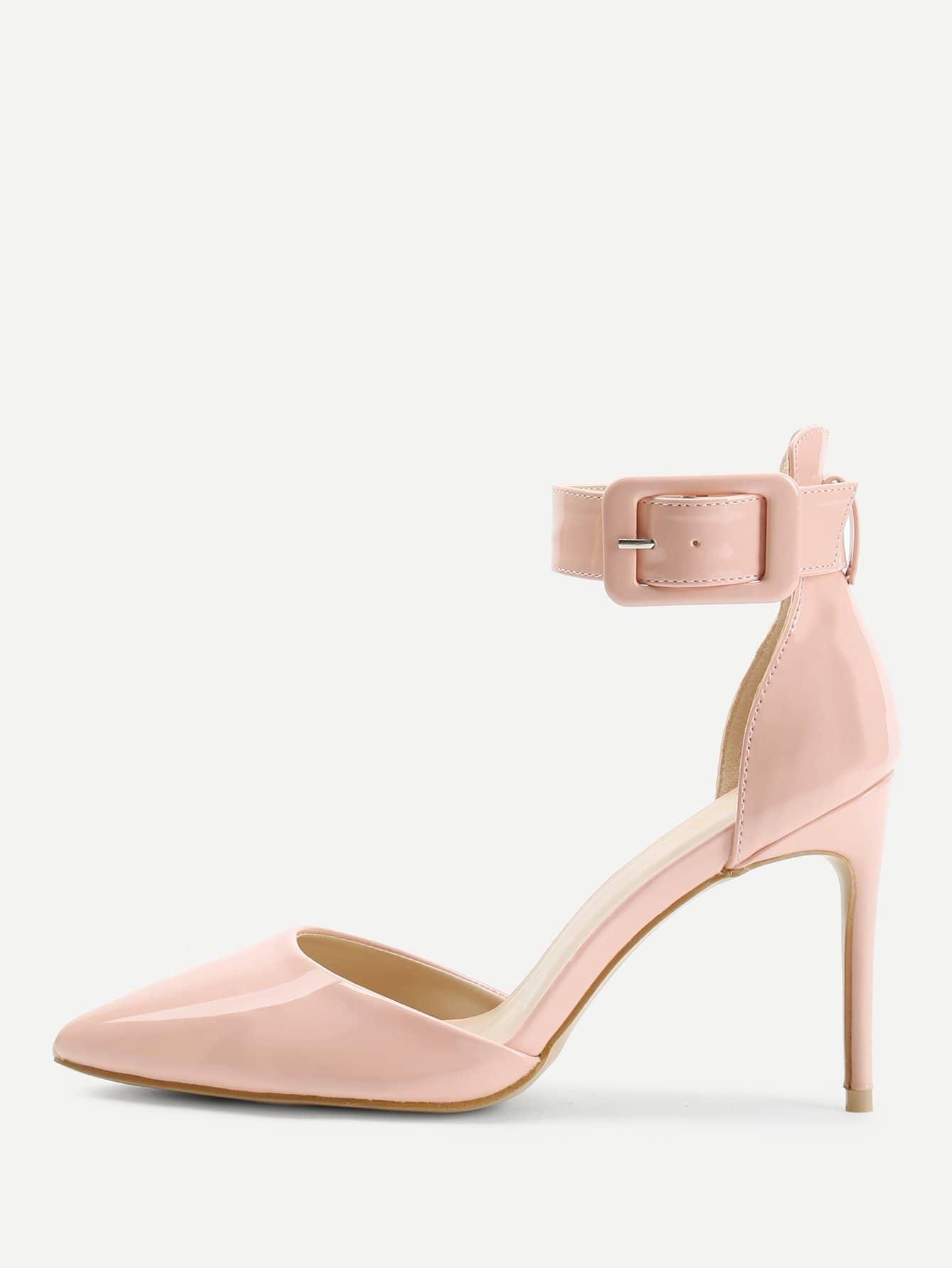 Ankle Cuff Stiletto Heels stiletto metallic ankle strap heels