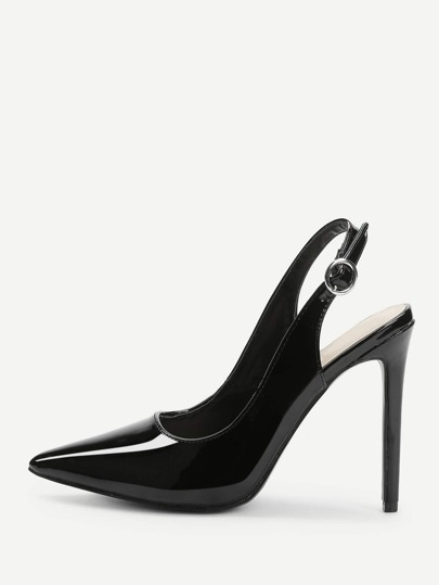 Slingbacks Pointed Toe Heels
