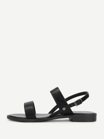 Strappy Slingbacks Sandals