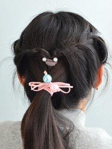 Pink Beads String