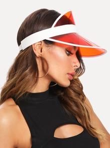 Tinted Brim Visor Hat