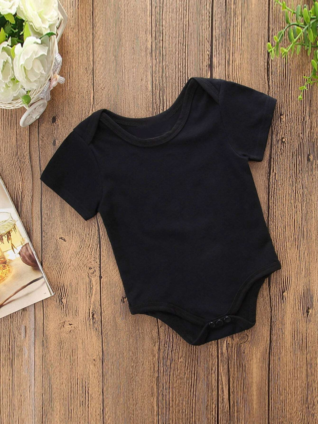 Boys Baby Solid Color Romper newborn baby boy girl infant warm cotton outfit jumpsuit romper bodysuit clothes