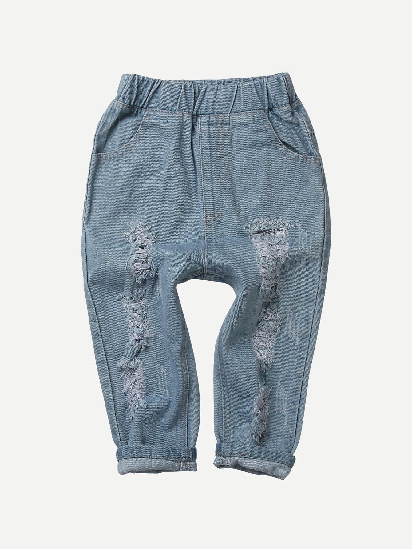 Boys Destroyed Jeans цена 2017