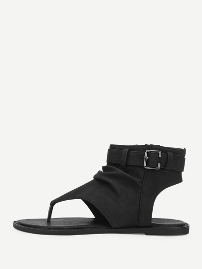 Toe Post Ankle Sandals