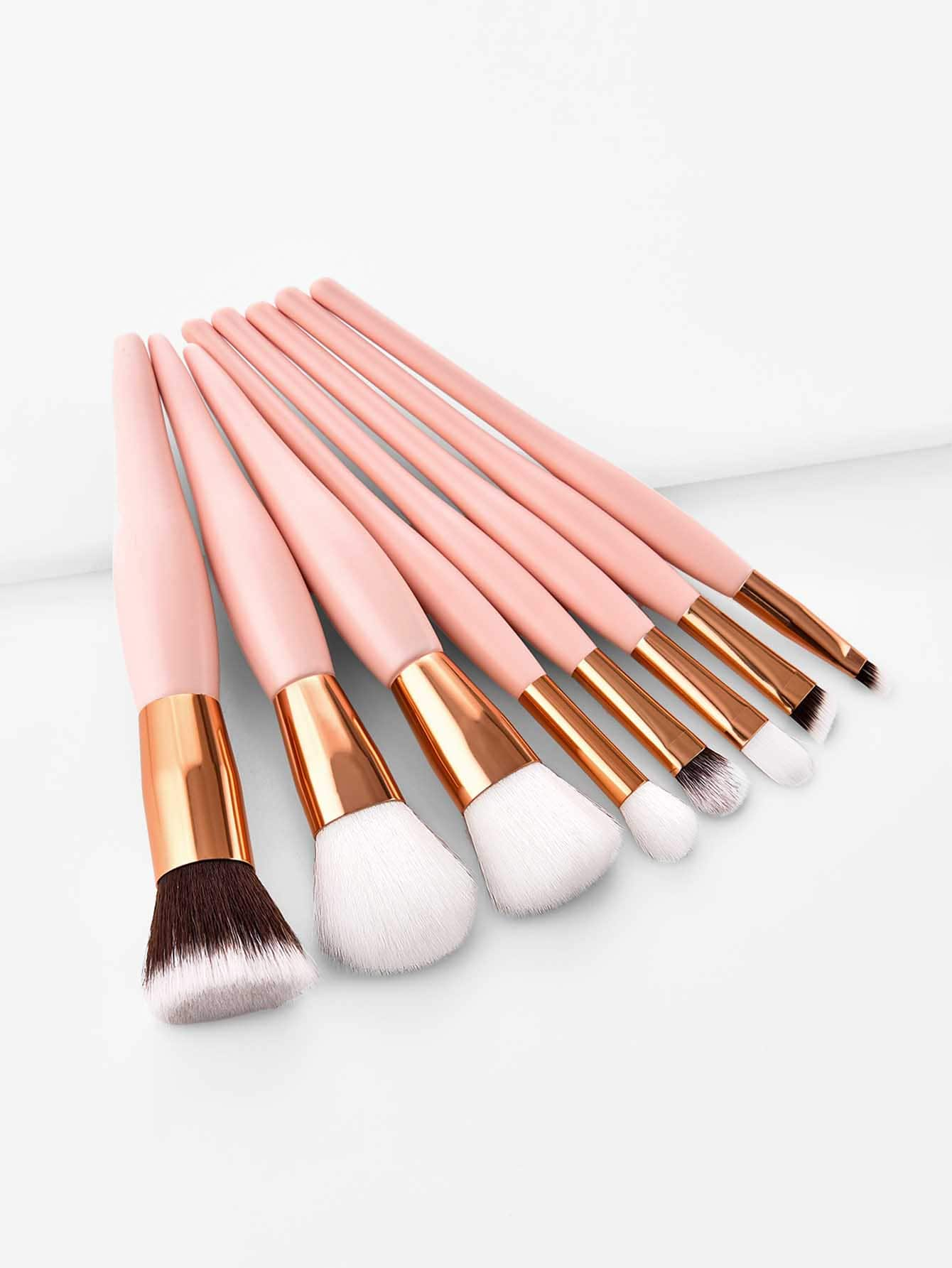 Soft Handle Makeup Brush 8pcs
