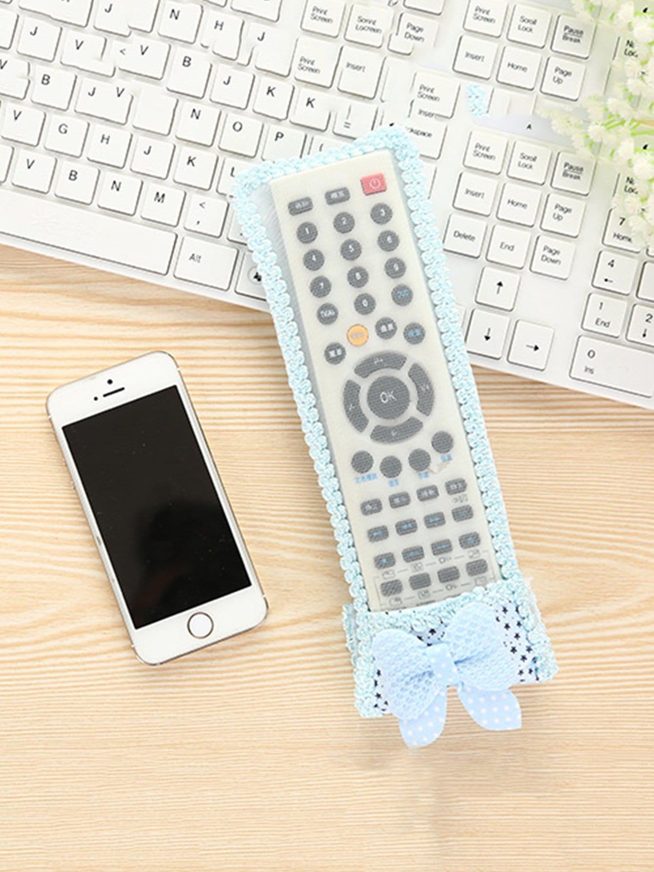 Lace Trim Mesh Remote Control Cover