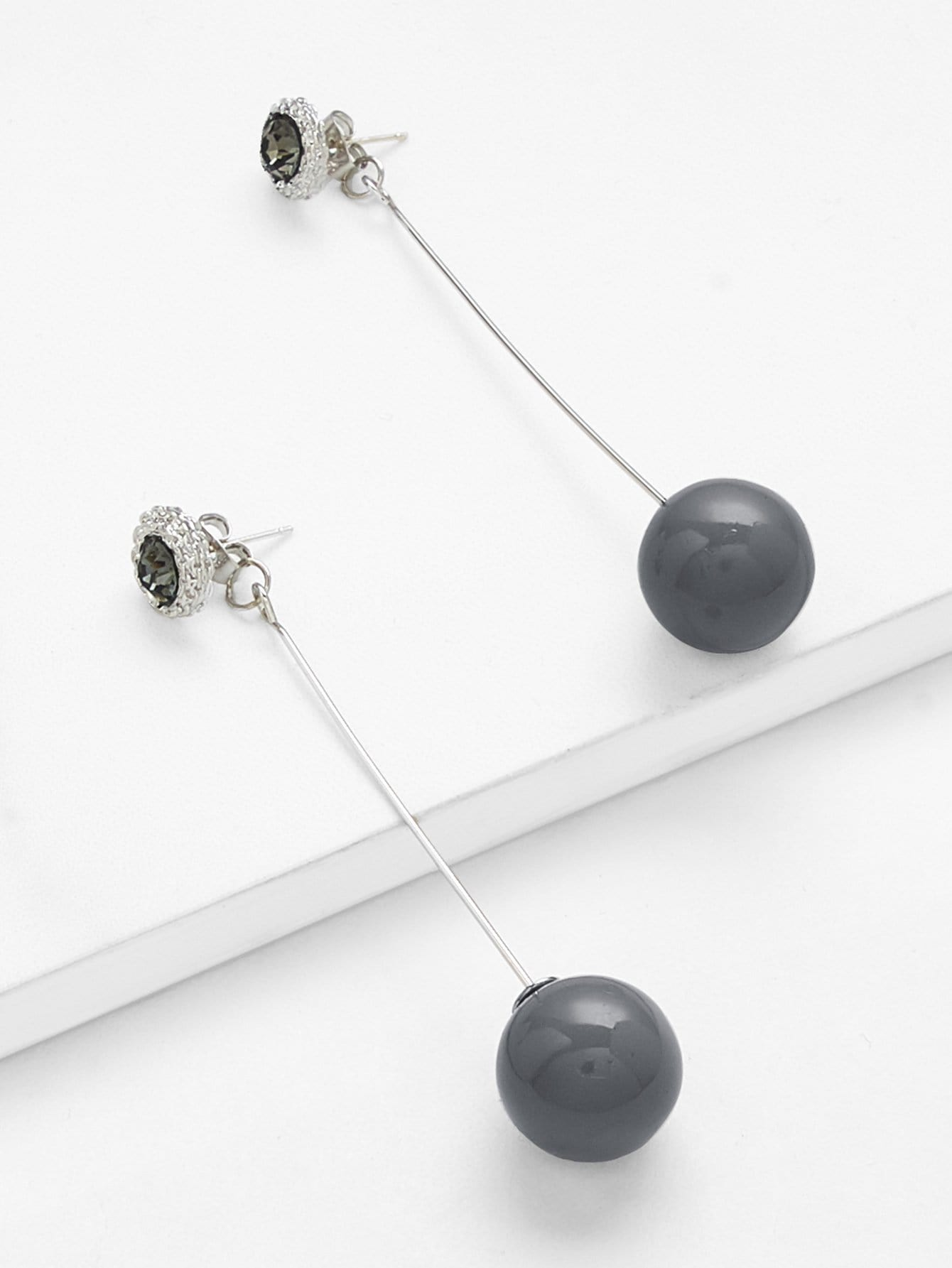 Round Dangle Earrings