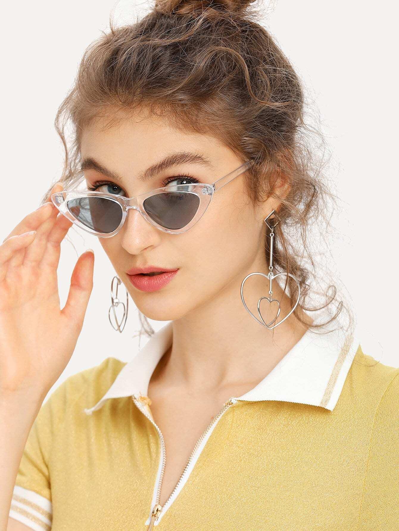 Clear Frame Cat Eye Sunglasses clear frame cat eye glasses