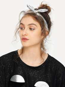 Metallic Knot Headband
