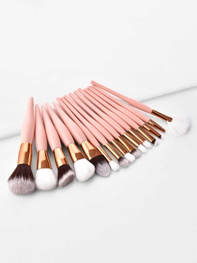 Soft Makeup Brush 15pcs