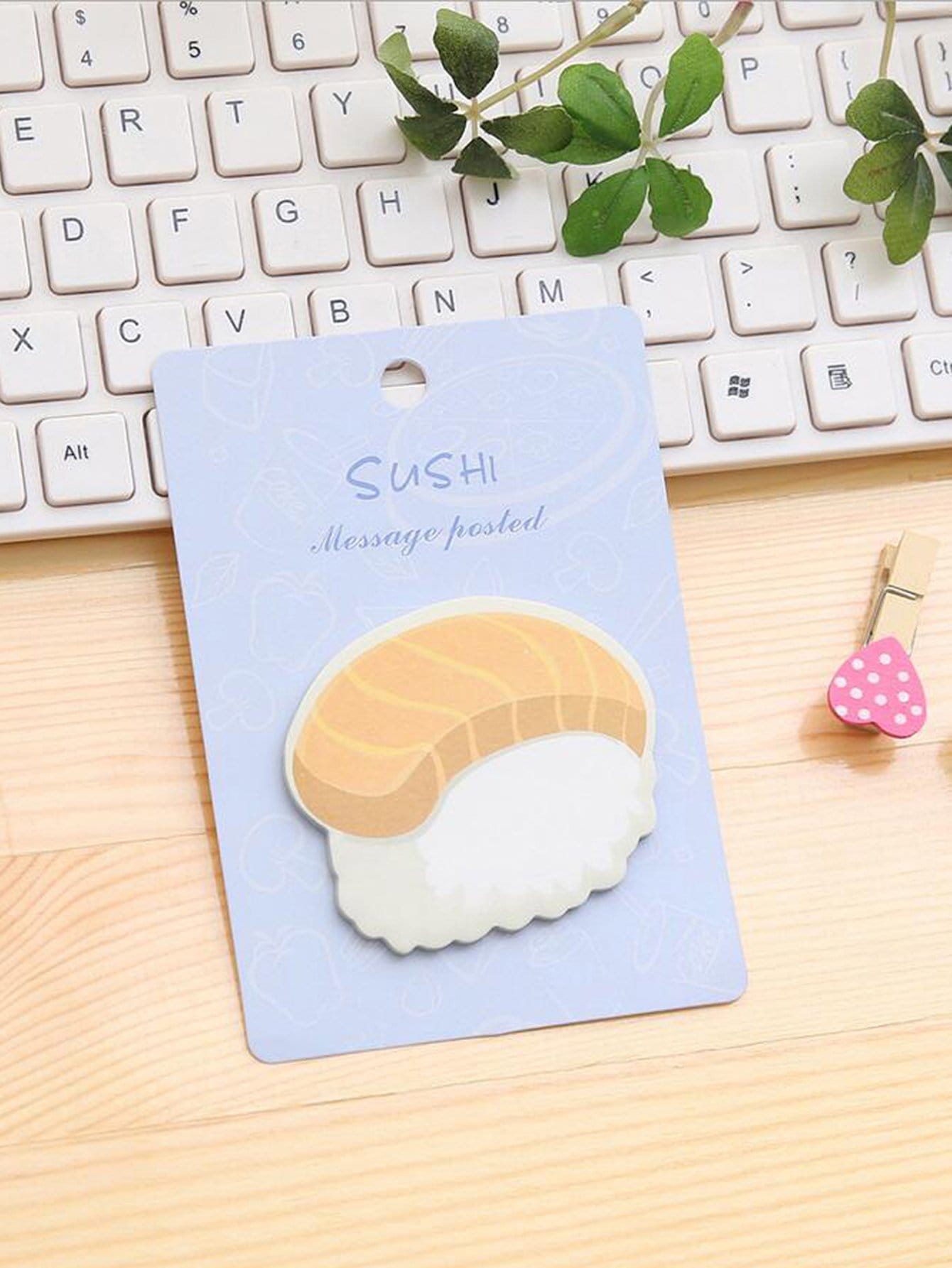Sushi Sticky Note 30pcs sun sushi