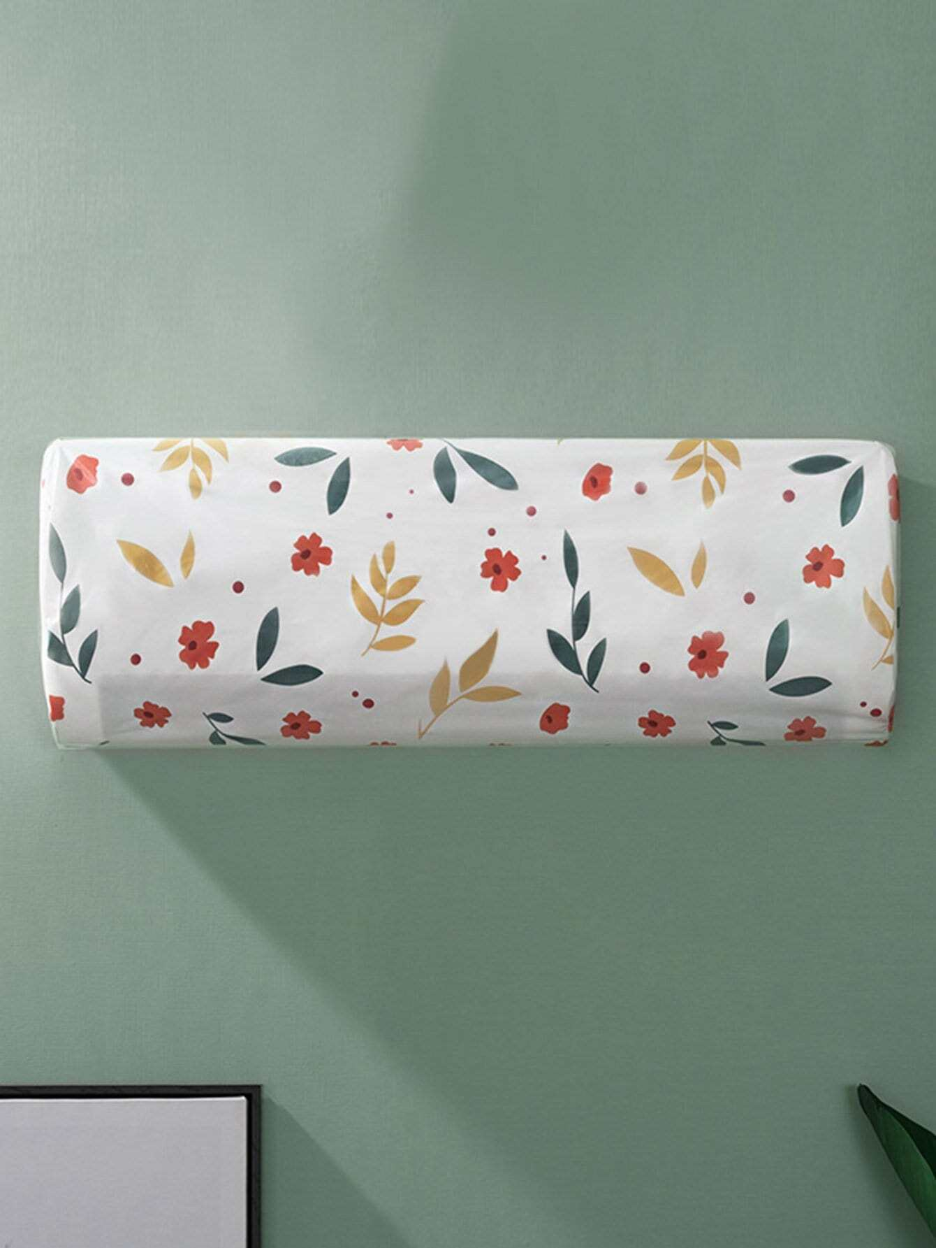 Floral Pattern Air Conditioner Dustproof Cover