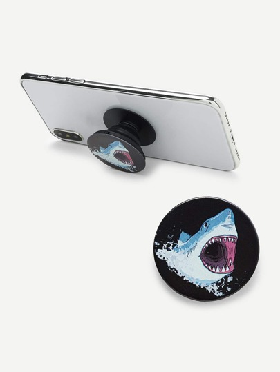 Shark Pattern Gasbag Phone Holder