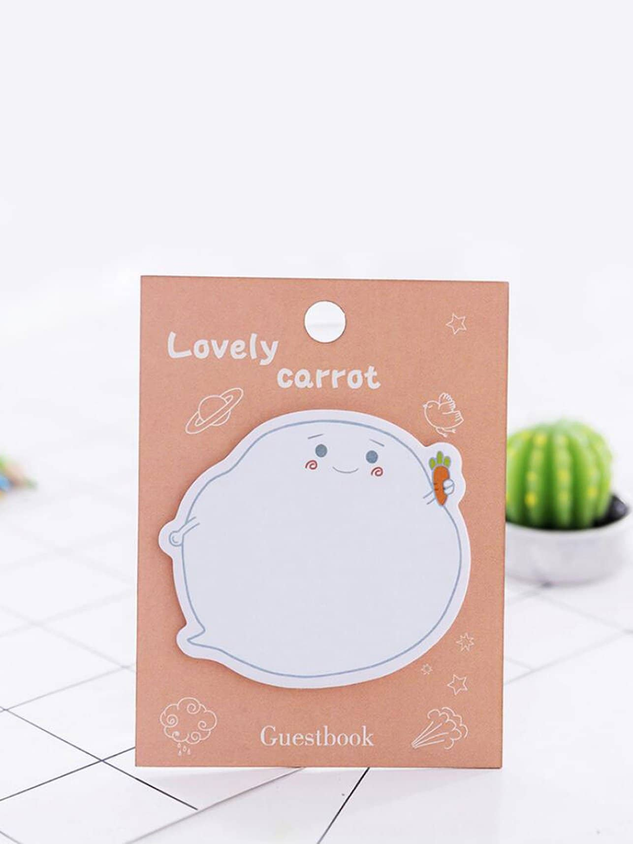 Cartoon Shaped Memo Pad 20pcs unique creative pear shaped memo pad small about 150 page