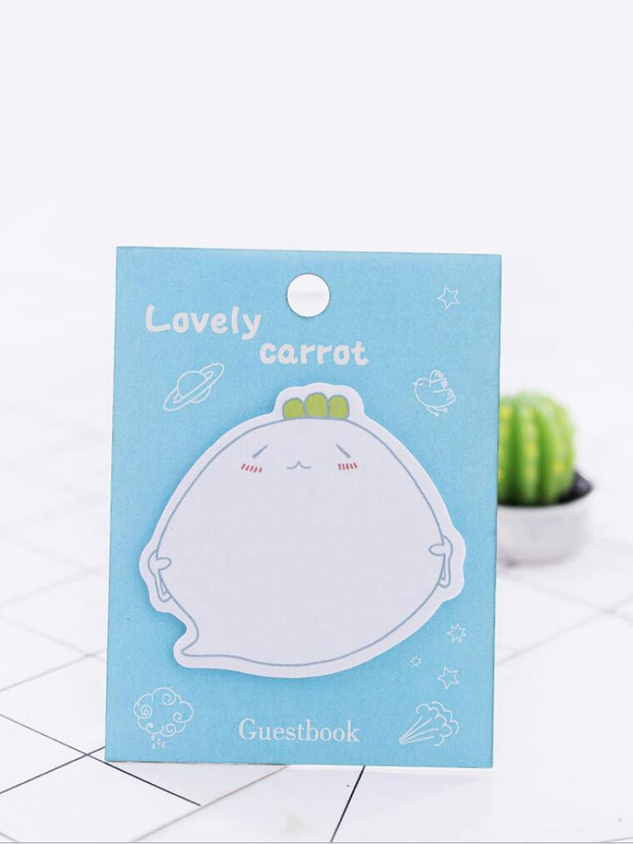 Cartoon Shaped Memo Pad 20pcs 150 page apple shaped memo pad